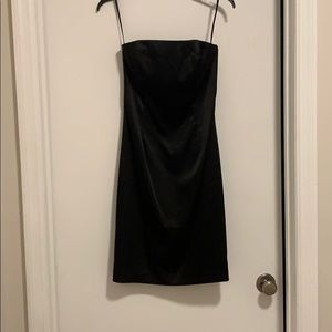 Perfect Strapless Little Black Dress